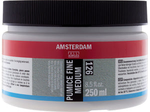 Amsterdam Pumice Fine Medium 126 Jar 500 ml