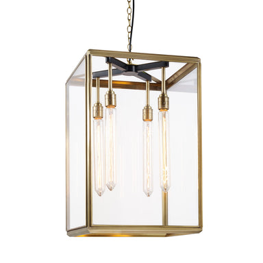 Rutland London Alwyne Lantern Pendant Light (Large)