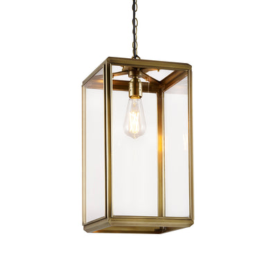 Rutland London Alwyne Lantern Pendant Light (Small)