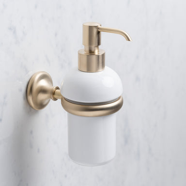 Rutland London Chatsworth Wall Mounted Soap Dispenser