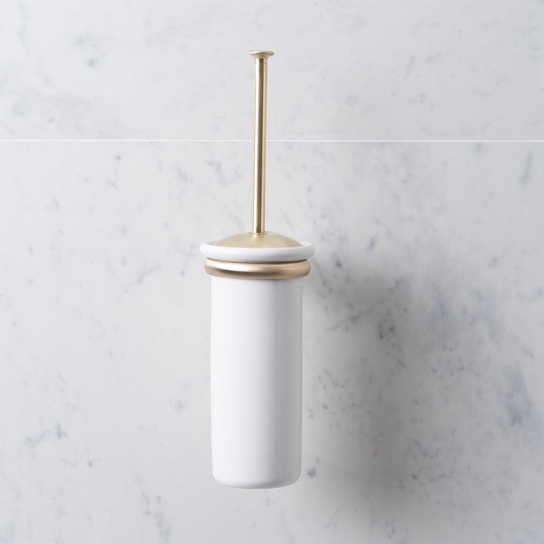 Rutland London Chatsworth Wall Mounted Toilet Brush Holder