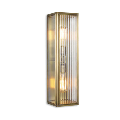 Rutland London Gough Wall Lantern Light