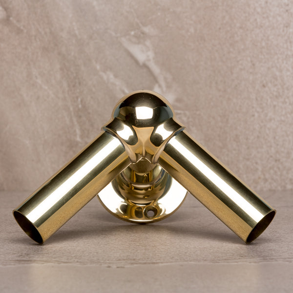 Rutland London Polished Brass
