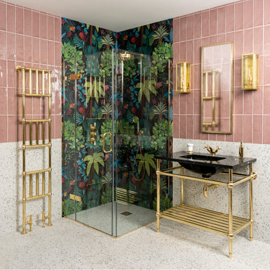 Rutland London Goring Brass Shower Enclosure