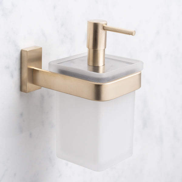 Rutland London Shoreditch Wall Mounted Soap Dispenser