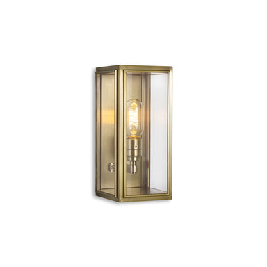 Whitehall Brass Wall Lantern Light (Small)