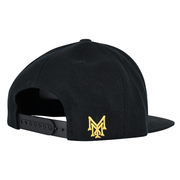 MM Snapback Hat Gold