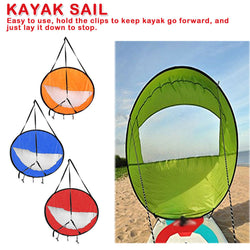Foldadable Kayak Windsail Kit - Gear Tree
