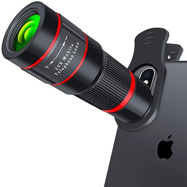 20X Zoom Telescopic 4K Phone Lens - Gear Tree