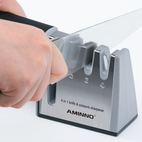 4 in 1 Knife Sharpener - Gear Tree