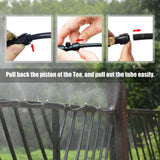 Outdoor Misting Cooling System - Gear Tree