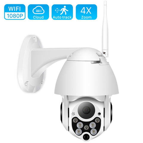 1080P Wireless Outdoor IP Security Camera with Night Vision - Gear Tree