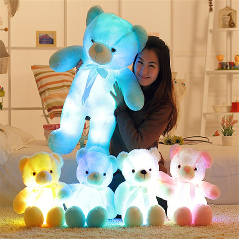 Glow Teddy Bear - Light Up Teddy Bear - Gear Tree