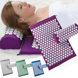 Acupressure Massage Mat and Pillow Set - Gear Tree