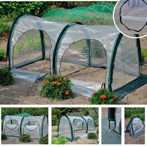 #1 Mini Greenhouse Garden Shed - Gear Tree
