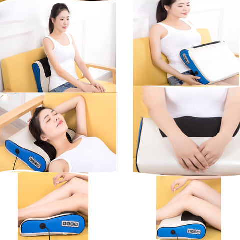 Heated Electric Massage Pillow - Neck and Shoulders - Gear Tree