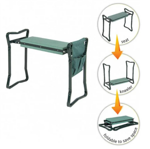 Gardener's Bench - Folding Ergonomic Kneeler Bench - Gear Tree