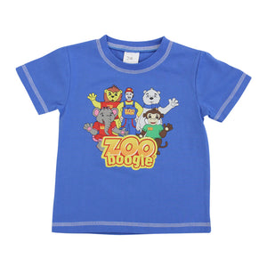 Zoo Boogie Blue Tee