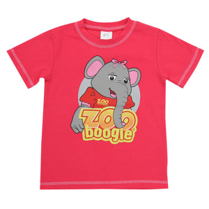 Zoo Boogie Ella the Elephant Tee