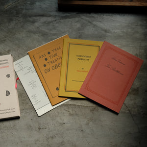 Ideas Have No Smell - Three Belgian Surrealist Booklets | Paul Nougé