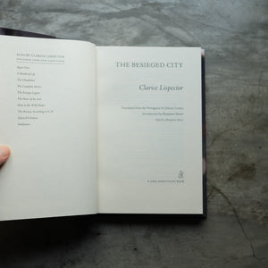 The Besieged City | Clarice Lispector