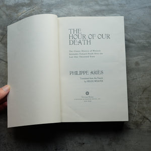 Hour of Our Death | Philippe Aries