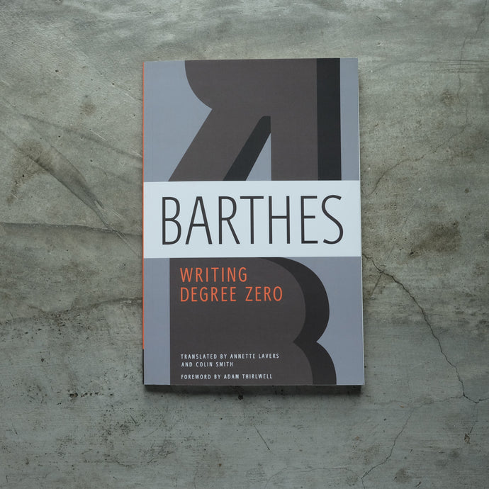 Writing Degree Zero | Roland Barthes