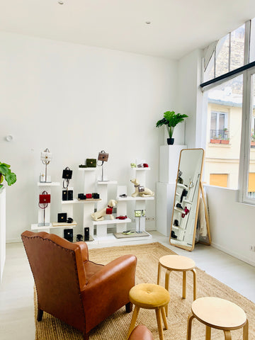Showroom parisien atypique, ancien atelier au coeur de Paris