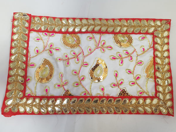Decorative Mataji Chundari / Mata Chunari / Decorative Alter Cloth