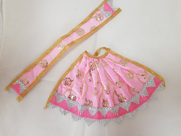 Lengha Patka Pastle Colour Design
