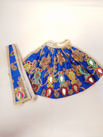 Lengha Patka with abla/Mirror work
