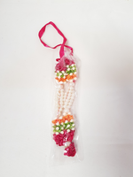 Red Flower and Pearl Haar/Garland