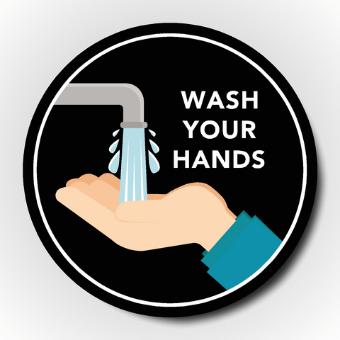 Wash Your Hands Sticker