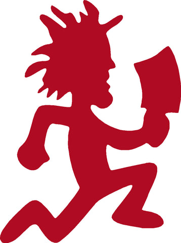 Juggalo Hatchet Man ICT vinyl sticker / decal x 1 of
