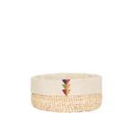 Load image into Gallery viewer, Home Decor Partial Embroidery / Small Banana Leaf Basket