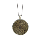 Load image into Gallery viewer, Jewelry Black Disk Necklace