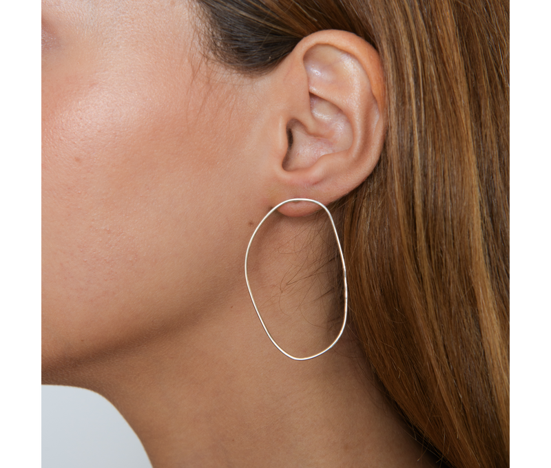 Jewelry Irregular Circle Earrings