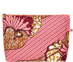 Load image into Gallery viewer, Accessories Pink Large Kitenge Pouch