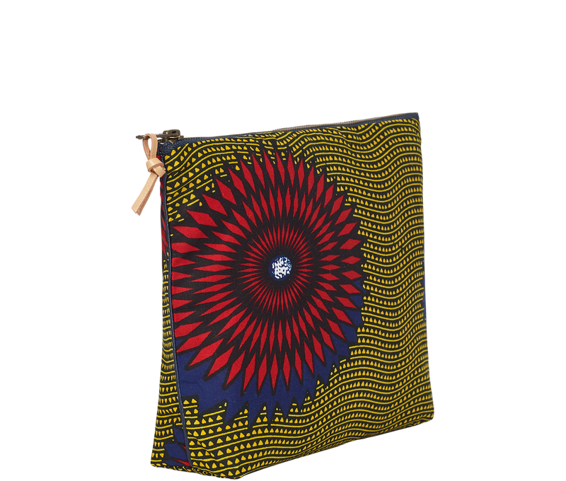 Accessories Large Kitenge Pouch
