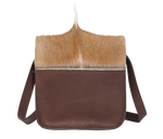 Load image into Gallery viewer, Handbag Brown Mohawk Crossbody Bag
