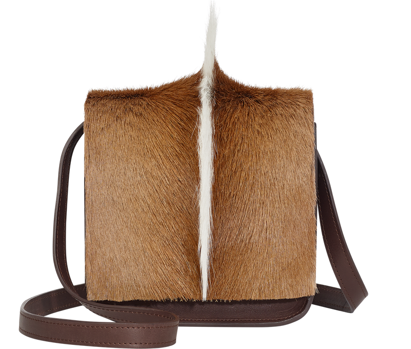 Handbag Brown Mohawk Crossbody Bag