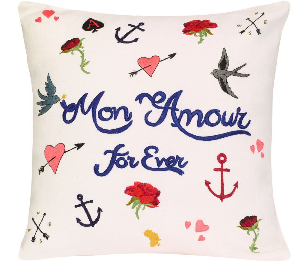 Home Decor Mon Amour Pillowcase
