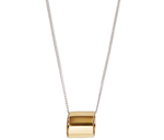 Load image into Gallery viewer, Jewelry Open Cylinder Necklace