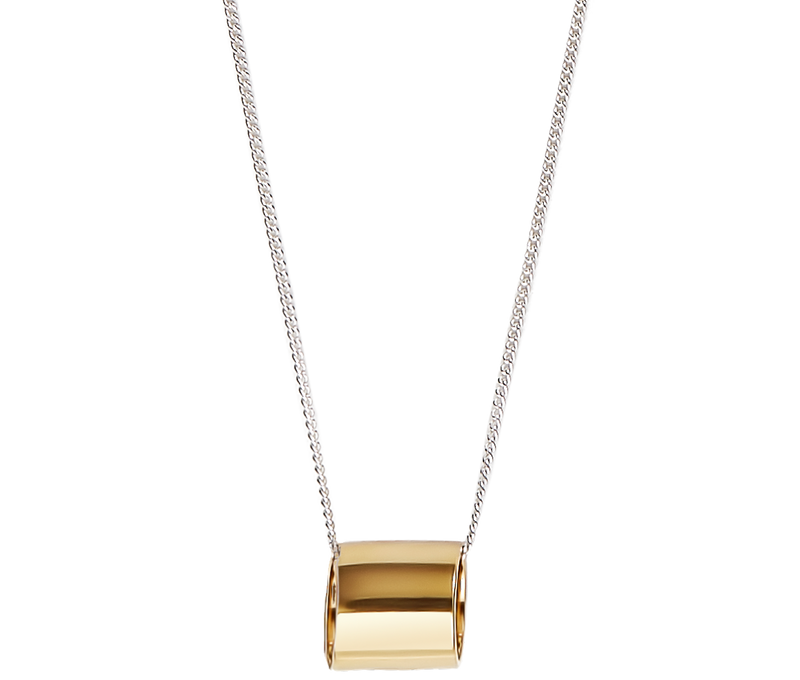 Jewelry Open Cylinder Necklace