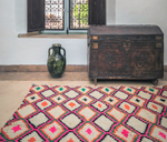 Load image into Gallery viewer, Pink Diamond Moroccan Rug
