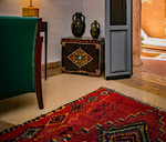 Load image into Gallery viewer, Home Decor Red Moroccan Rug