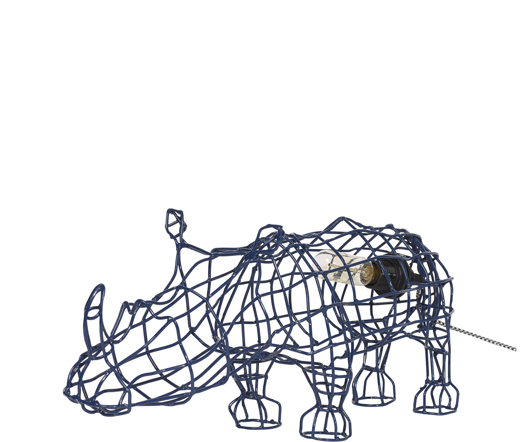Home Decor Rhino Wire Lamp