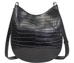 Load image into Gallery viewer, Handbag Black Saddle Bag