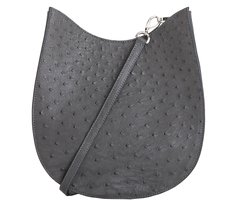 Handbag Grey Saddle Bag