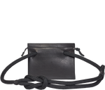 Load image into Gallery viewer, Handbag Black Sailing Rope Bag